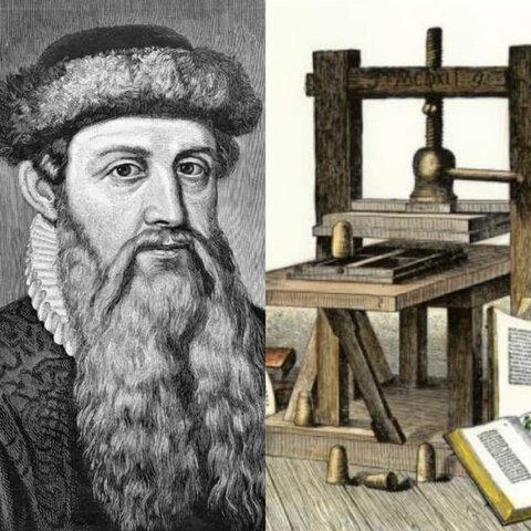 La imprenta de Gutenberg