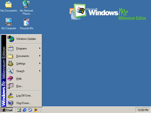Windows ME- 32 bits