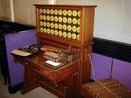 La máquina tabuladora, una máquina de Herman Hollerith