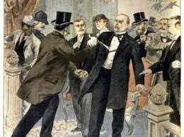 Roosevelt becomes President after McKinley's death