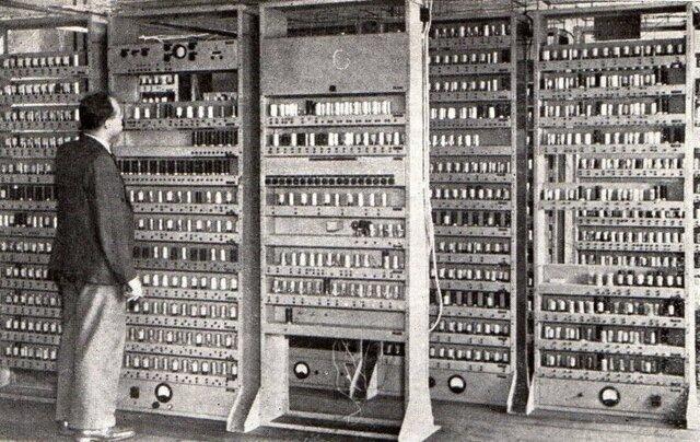 La primera generación (1936): válvulas de vacío