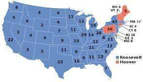 Roosevelt wins the 1933 election.