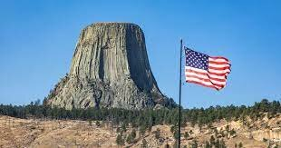 Devils Tower, Wyoming, named first national monument