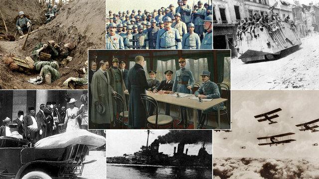 La primera guerra mundial 1914