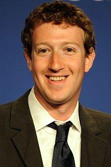 Personajes de humanismo digital Mark Elliot Zuckerberg 1984