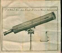 Primer telescopio reflector de utilidad práctica.