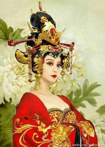 Wu Zetian puja al tron