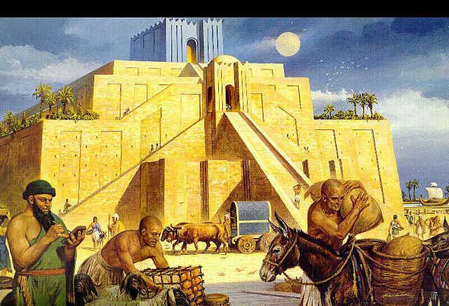 3.000 a.C: Civilización mesopotámica: