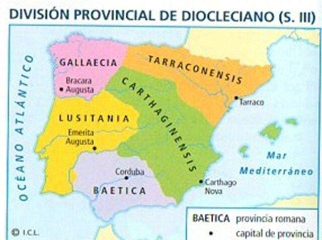 Divisió provincial de Dioclecià