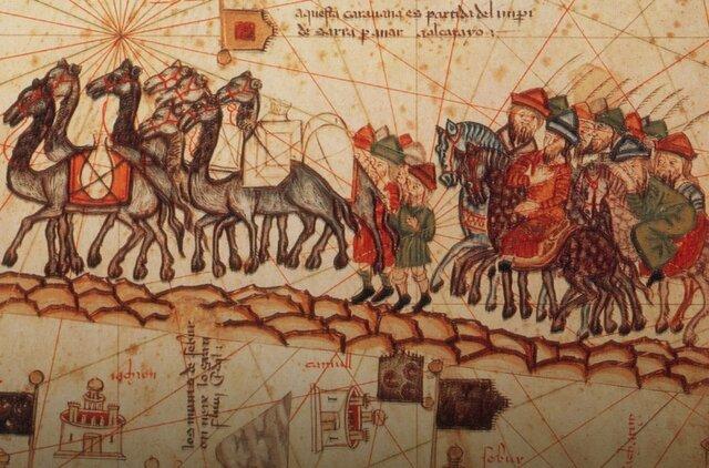 2000-3000 a.C: Creación de la Ruta de la Seda.