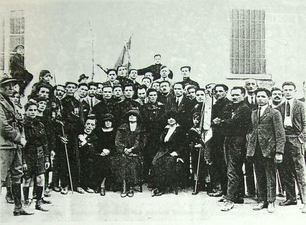 Fundación Fasci italiani di combattimento