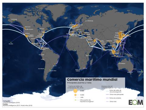 Siglo XXI: comercio mundial marítimo