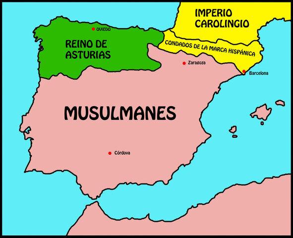 Creació de la Marca Hispànica dels Pirineus