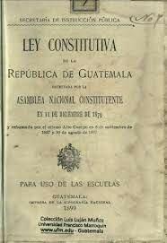 Ley Constitutiva