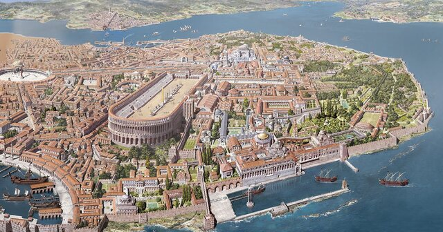 Arriben els primers destacaments turcs a Constantinoble
