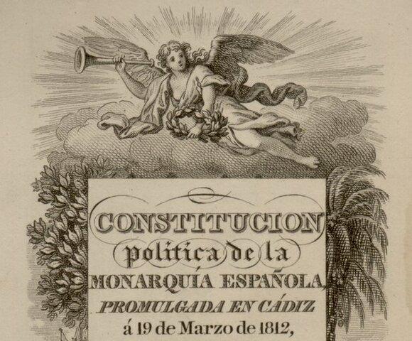 Constitución de Cádiz, 1812
