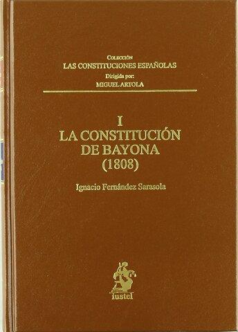 Constitución de Bayona, 1808