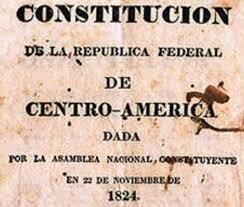 Constitución de la Republica Federal de Centro América