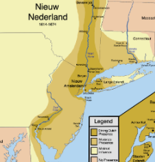 New Netherlands Claimed