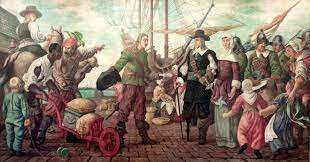 The Duke of York drives out the Dutch in New Netherland. The Duke of York claims the colony for England and renamed it New York.