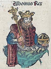 És assassinat el rei Alboí