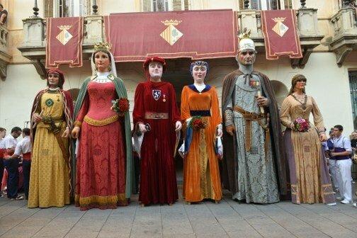 Primera vegada que veig els gegants de Mataró