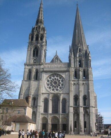 Consagrada la catedral de Chartres