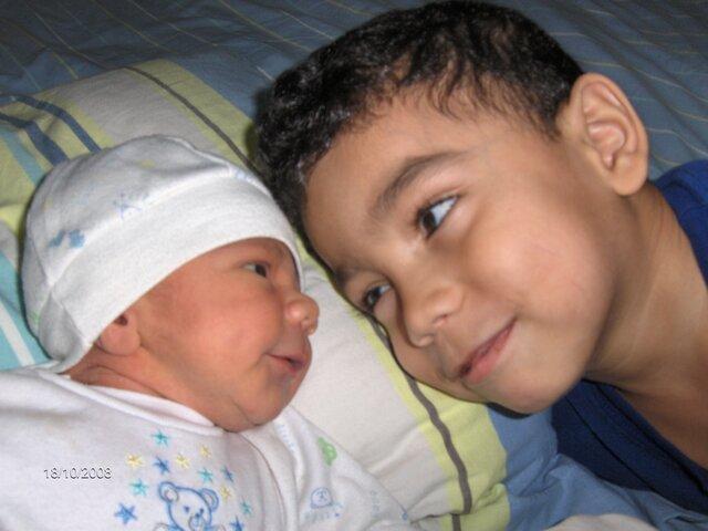 Nacimiento de mi hermano