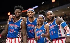 Los Harlem Globetrotters.