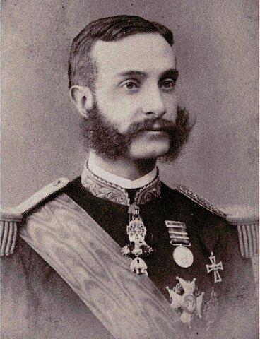 Alfonso XII rei d'Espanya