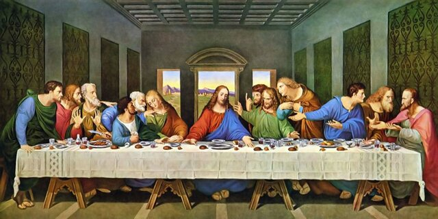 'The Last Supper' (1495-1498)