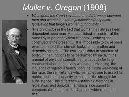 Muller v. Oregon