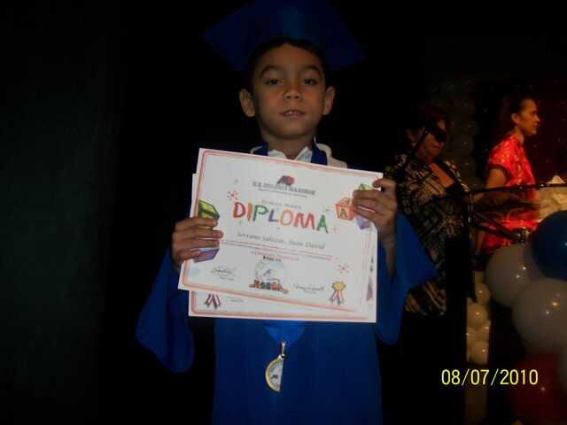 Mi primera graduación