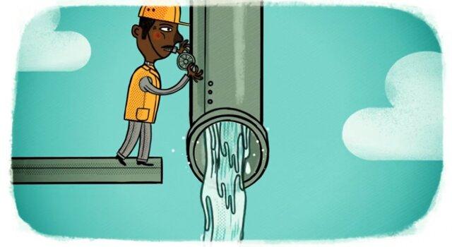 El agua y empleo