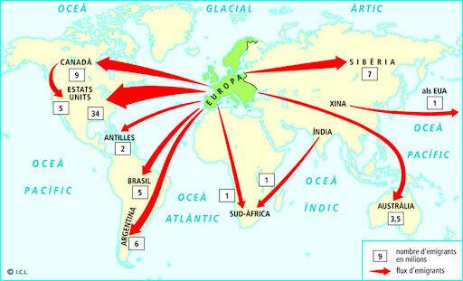 Formació d'imperis colonials mundials