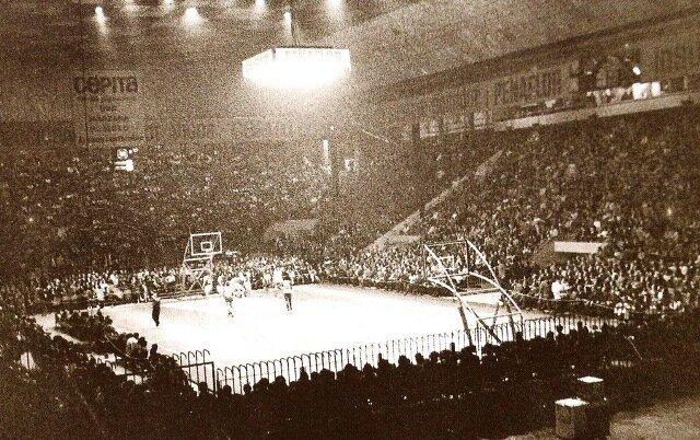 Primer partido de basquetbol trasnsmitido por TV.