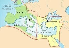 Primera división del imperio romano entre Dioclecià i Maximià