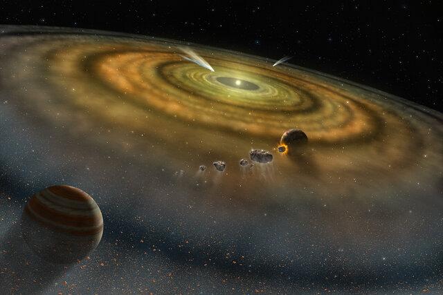 Päikesesüsteemi teke