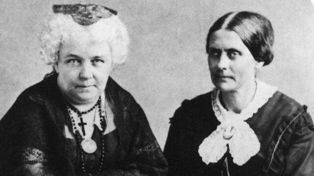 Elizabeth Cady Stanton and Susan B. Anthony create The Revolution