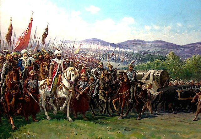 Els turcs conquereixen Constantinoble