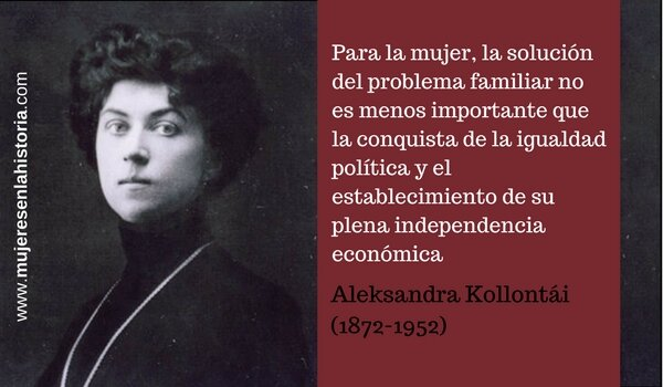Nace Alexandra Kollotai