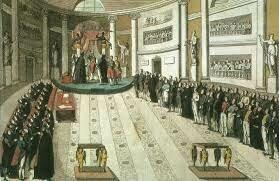 Ferran VII és obligat a jurar la Constitució espanyola de 1812