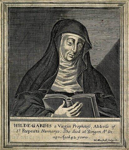 Hildegard von Bingen Born