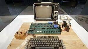 O primeiro apple, Apple 1