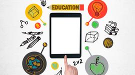 La tecnología en la educación timeline