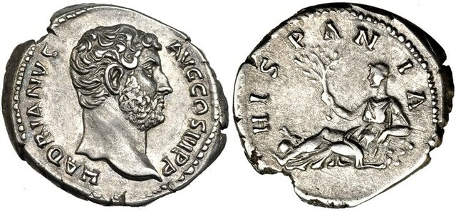 Emperador d'hispania Adriano