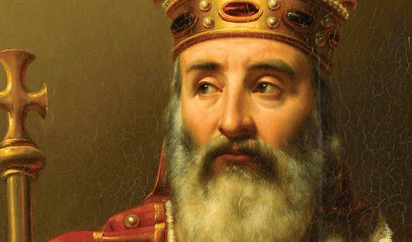 Nace Carlo Magno