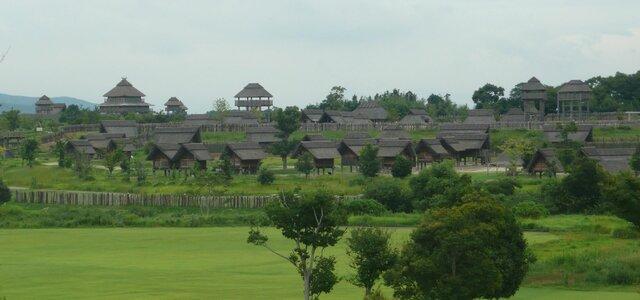 Recreatie Yoshinogari dorp