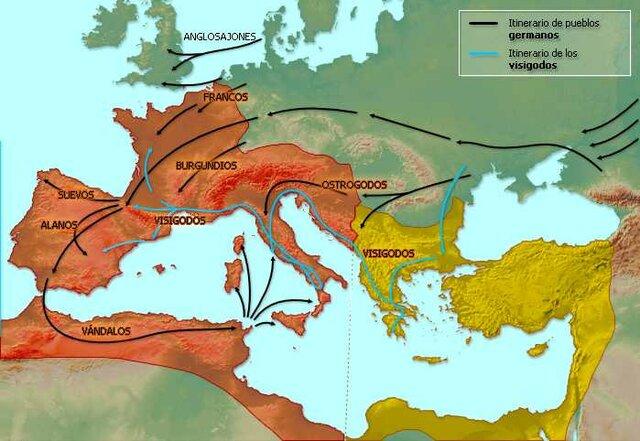 Invasió d'Espanya per Francs i Sueus