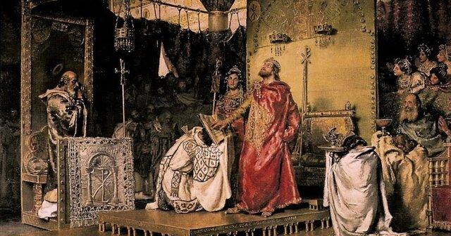 Conversió d'un governant al catolicisme